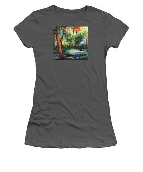 Acrylic Msc 217 Women's T-Shirt (Athletic Fit)