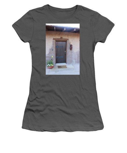 Adobe Door Women's T-Shirt (Athletic Fit)