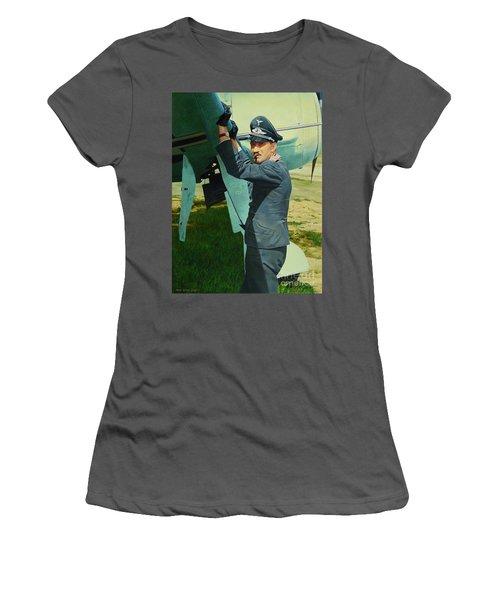 Adolf Women's T-Shirt (Athletic Fit)
