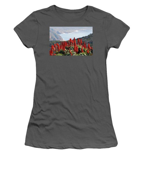 African Aloe And False Bay Women's T-Shirt (Athletic Fit)