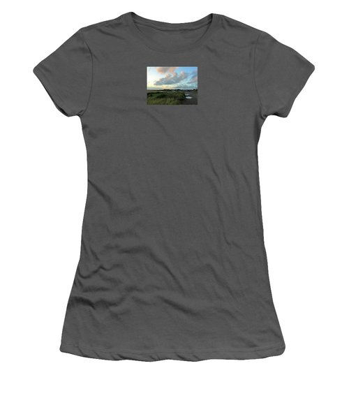Women's T-Shirt (Junior Cut) featuring the photograph After The Rain by Anne Kotan