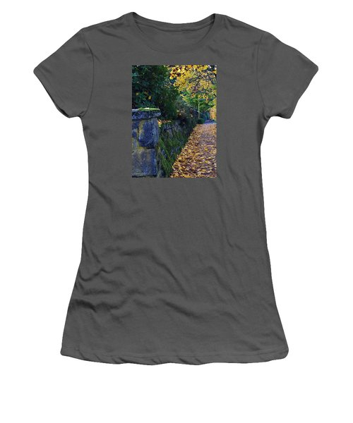 Afternoon Sidewalk  Women's T-Shirt (Athletic Fit)