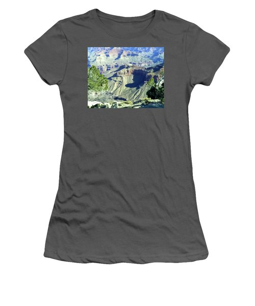 Afternoon View Grand Canyon Women's T-Shirt (Athletic Fit)