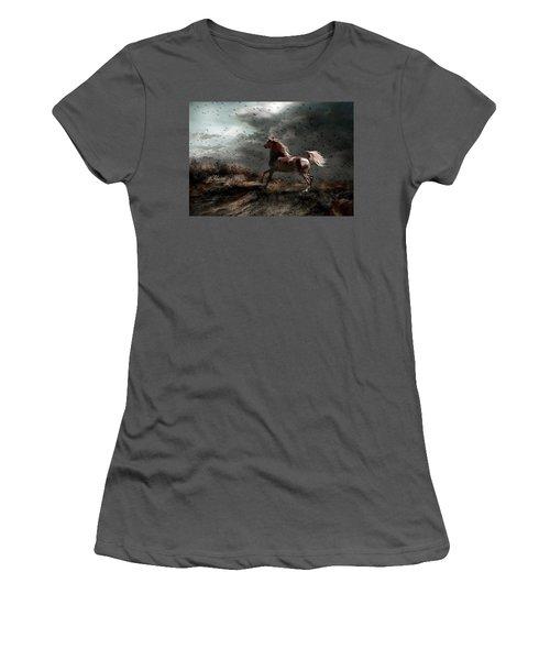 Against All Odds Women's T-Shirt (Junior Cut) by Dorota Kudyba