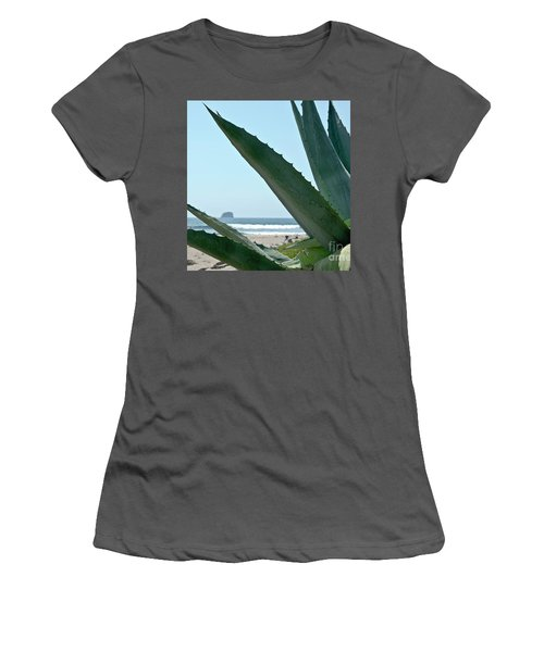 Agave Ocean Sky Women's T-Shirt (Junior Cut) by Yurix Sardinelly