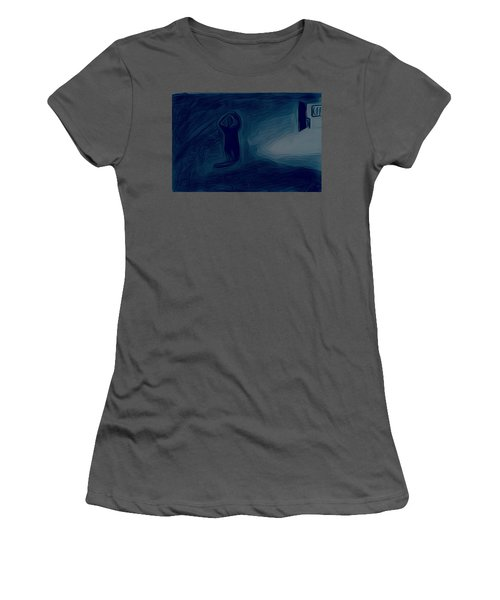 Agony Of The Outside World 1 Women's T-Shirt (Athletic Fit)