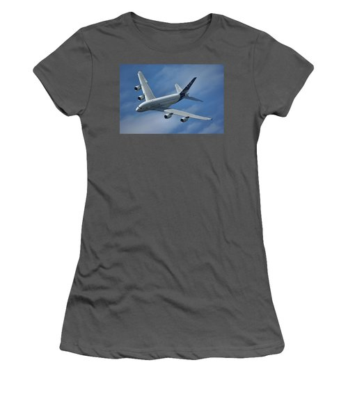 Airbus A380 Women's T-Shirt (Athletic Fit)