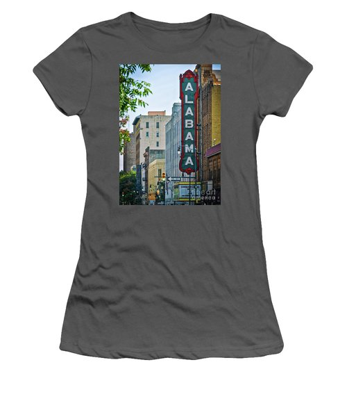 Alabama Theatre Women's T-Shirt (Athletic Fit)