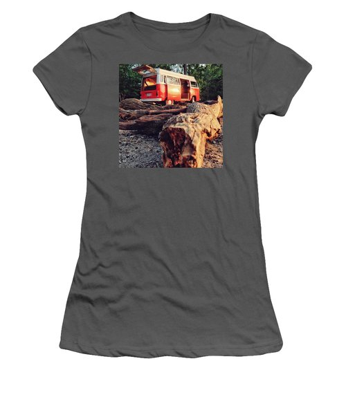 Alani By The River Women's T-Shirt (Junior Cut) by Andrew Weills