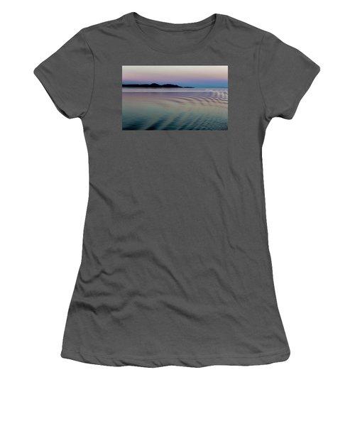 Alaskan Sunset At Sea Women's T-Shirt (Athletic Fit)