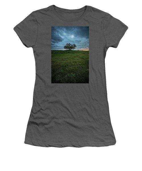 Alive Women's T-Shirt (Junior Cut) by Aaron J Groen