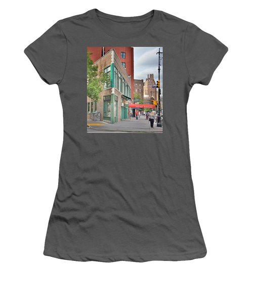 All That Jazz - Greenwich Village Vangaurd  Women's T-Shirt (Athletic Fit)