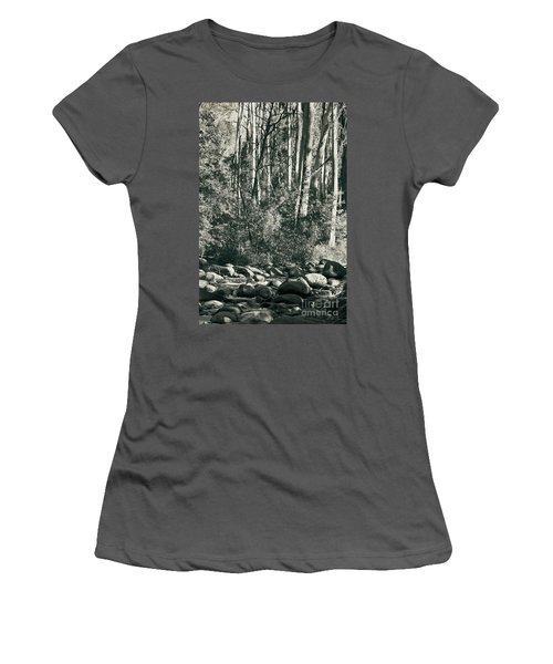 All Was Tranquil Women's T-Shirt (Junior Cut) by Linda Lees