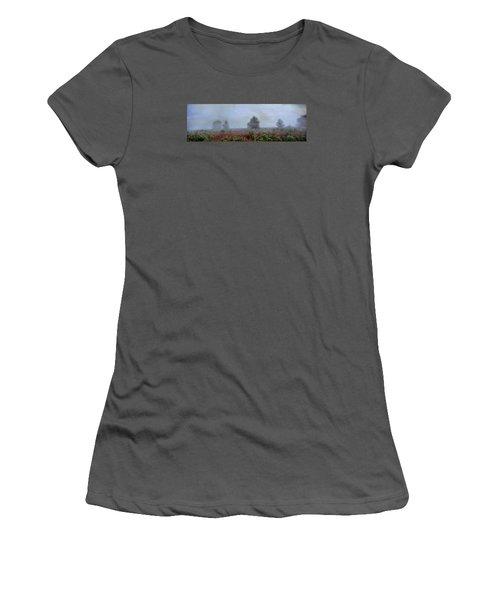 Alone On A Hill Women's T-Shirt (Junior Cut) by John Rivera