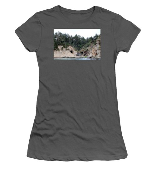 Along The Oregon Coast - 2 Women's T-Shirt (Athletic Fit)