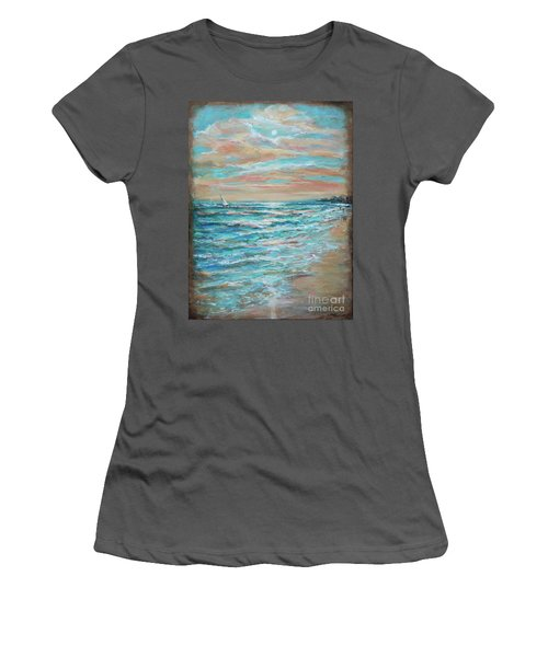 Along The Shore Women's T-Shirt (Athletic Fit)