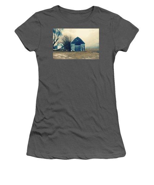 Women's T-Shirt (Junior Cut) featuring the photograph Always Work To Do by Julie Hamilton