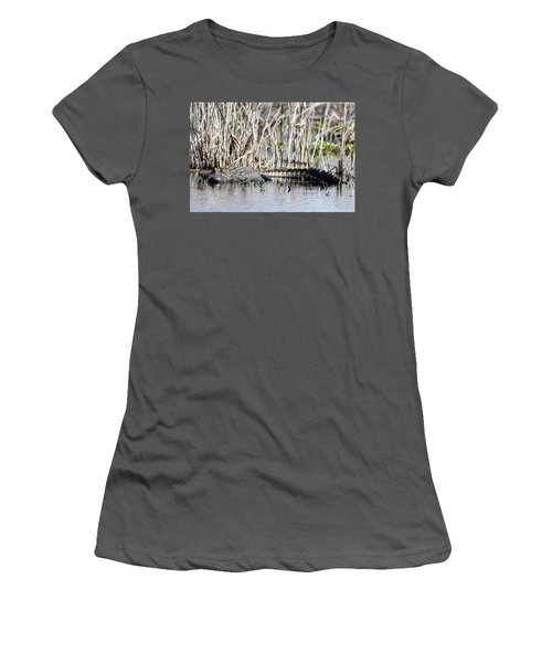 American Alligator Women's T-Shirt (Athletic Fit)