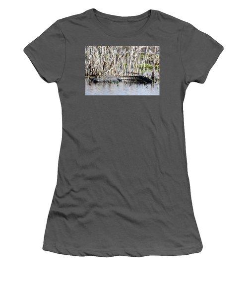 American Alligator Women's T-Shirt (Athletic Fit)