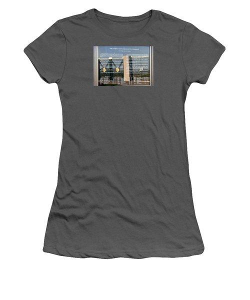 American Battle Monuments Commission Women's T-Shirt (Athletic Fit)