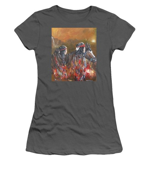 American Indians Family Women's T-Shirt (Athletic Fit)