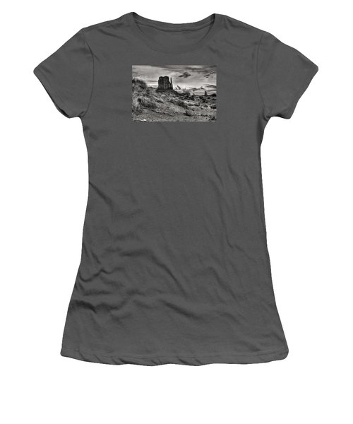 Women's T-Shirt (Junior Cut) featuring the digital art Among The Mittens by William Fields