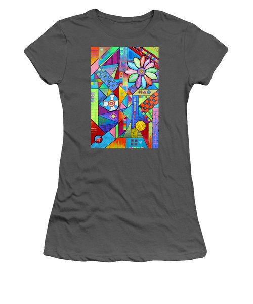 An All Seeing Eye Women's T-Shirt (Athletic Fit)