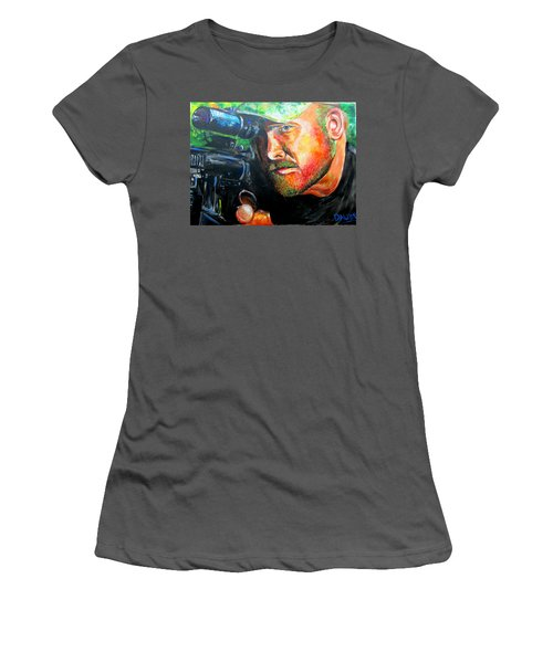 An American Hero Women's T-Shirt (Athletic Fit)