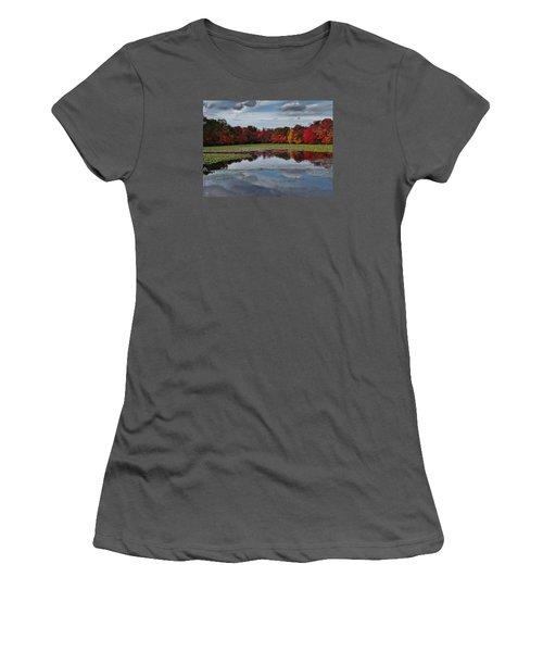 An Autumn Day Women's T-Shirt (Junior Cut) by Mikki Cucuzzo