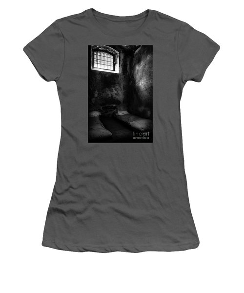 An Empty Cell In Old Cork City Gaol Women's T-Shirt (Junior Cut) by RicardMN Photography
