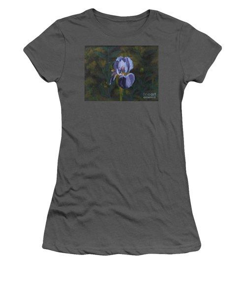An Iris In My Garden Women's T-Shirt (Athletic Fit)