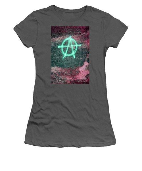 Anarchy In Tallinn Women's T-Shirt (Junior Cut) by Todd Breitling