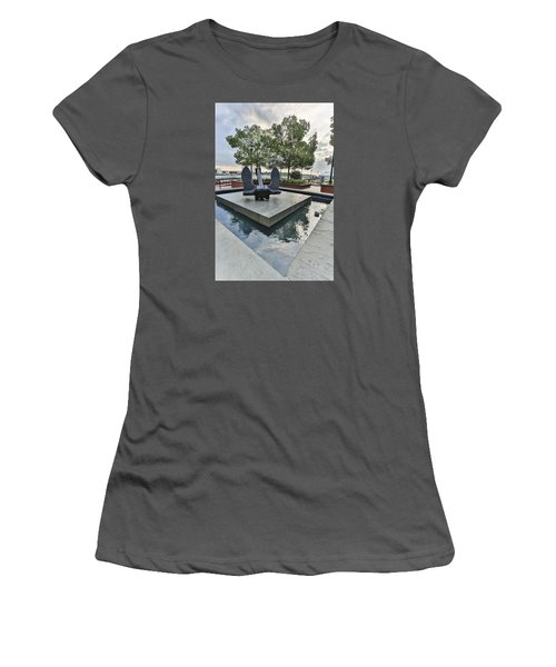 Anchor Monument Women's T-Shirt (Athletic Fit)