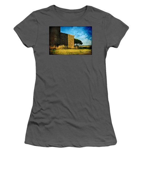 Ancient Church - Italy Women's T-Shirt (Athletic Fit)