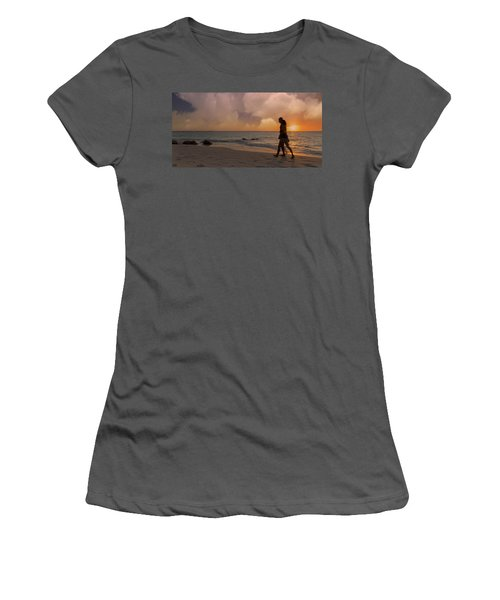 And Never Tear Us Apart Women's T-Shirt (Athletic Fit)