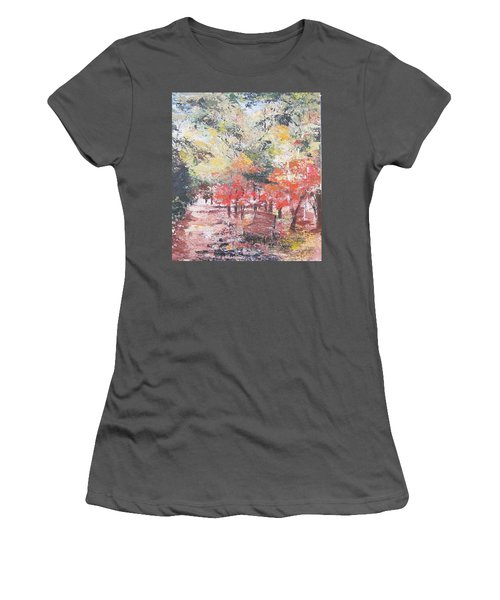 And Then There Was Fall Women's T-Shirt (Athletic Fit)