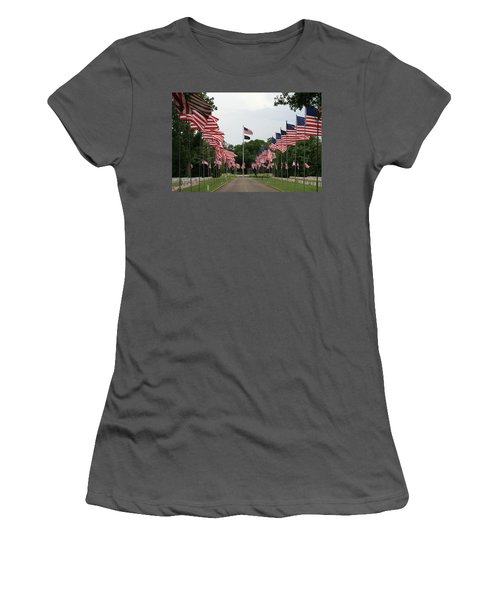 Andersonville National Cemetery Women's T-Shirt (Athletic Fit)