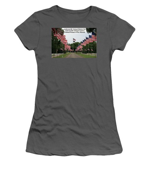 Andersonville National Park Women's T-Shirt (Athletic Fit)