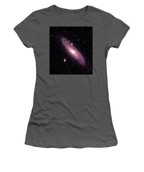 M31 Andromeda Galaxy Women's T-Shirt (Athletic Fit)