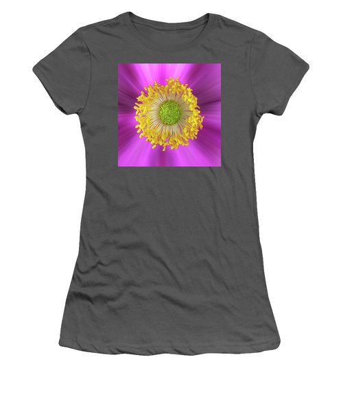 Anemone Hupehensis 'hadspen Women's T-Shirt (Athletic Fit)