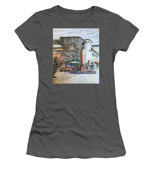 Angel At Santa Barbara Women's T-Shirt (Athletic Fit)