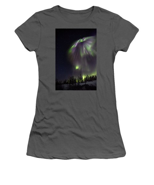 Angel In The Night Women's T-Shirt (Athletic Fit)