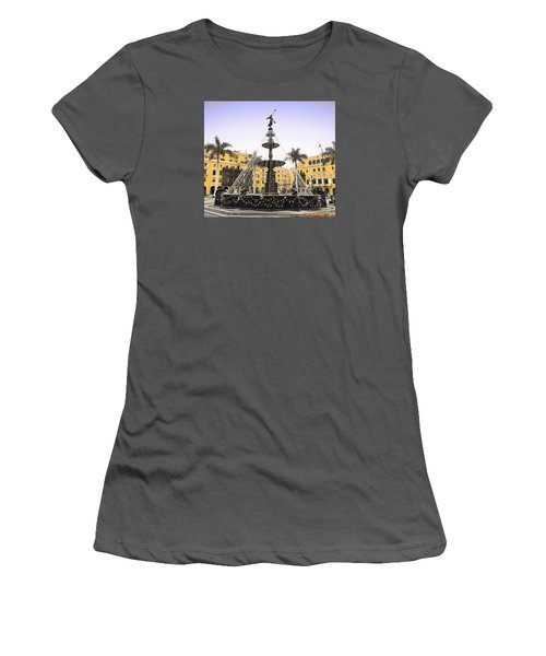 Angel In The Square Women's T-Shirt (Athletic Fit)