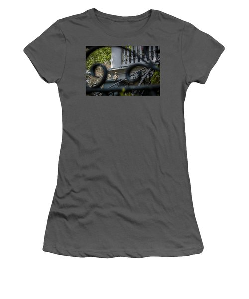 Angelic Ironwork Women's T-Shirt (Athletic Fit)