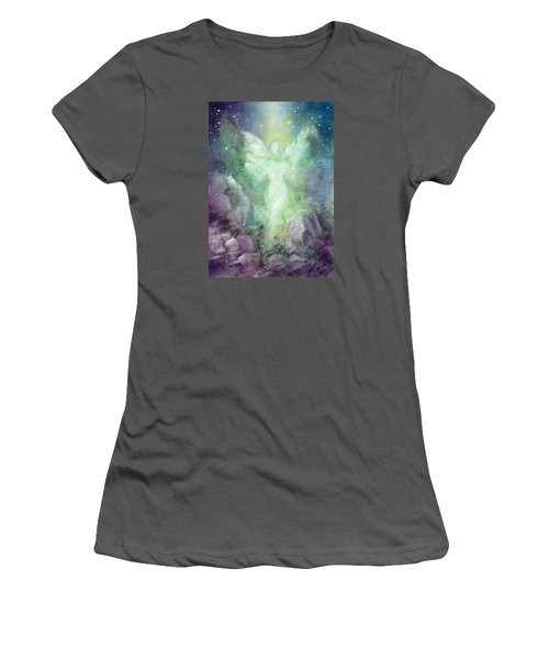 Angels Journey Women's T-Shirt (Junior Cut) by Marina Petro