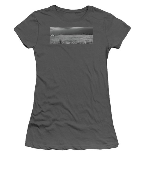 Angry Skies Women's T-Shirt (Athletic Fit)