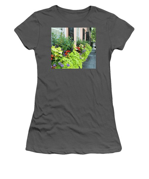 Anson St. Women's T-Shirt (Junior Cut) by Ed Waldrop