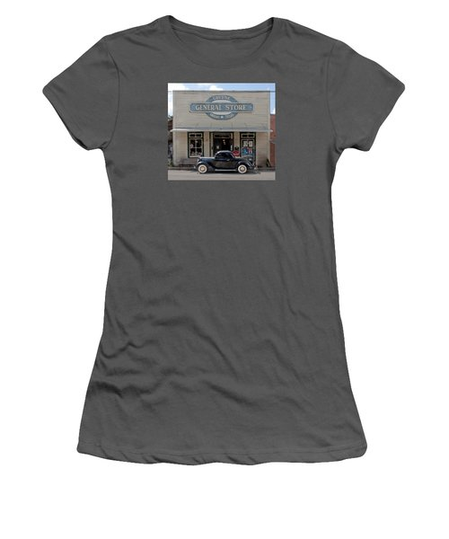 Antique Car At Gruene General Store Women's T-Shirt (Athletic Fit)