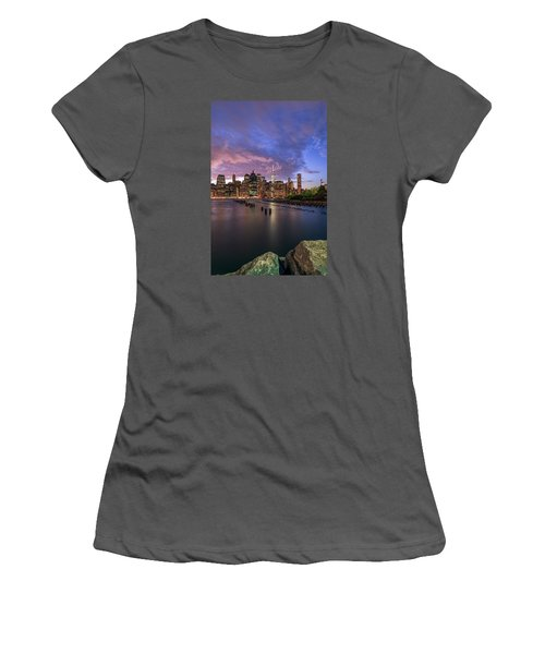 Women's T-Shirt (Junior Cut) featuring the photograph Apocalypse by Anthony Fields