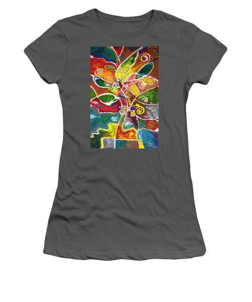 April Bouquet Women's T-Shirt (Athletic Fit)